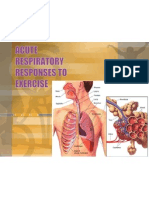 acute respiratory changes to exercise