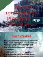 Teori Plat Tektonik Dan Perebakan Dasar Laut
