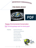Environmental Conservation Project Report Smksb
