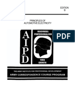 Army Principles of Auto Electricity