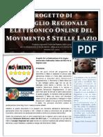 Progetto Parlamento Elettronico del Consiglio Regionale Lazio M5S v019