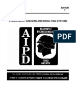 US Army Mechanic Principles Gas Diesel Fuel Systems