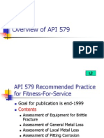Overview of API 579