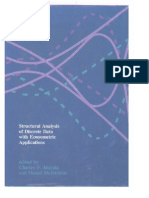Structural Analysis of Discrete Data