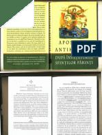 2011=Apostazia Si Antihristul Dupa Invataturile Sfintilor Parinti