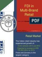 FDI in Multi-Brand Retail