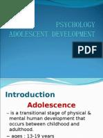 Psychology Adolesence Development