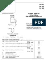 bc107 Data Sheet [Seme semiconductors]