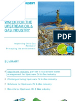EN - Water for Upstream Oil & Gas industry -  Degrémont Industry
