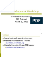 Web Development Workshop