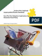 Adoptarea Pactului Euro Plus