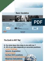 2011 Esri Pug Apsg Basic Geodesy