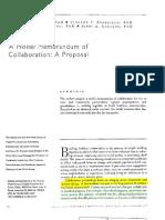 Stakeholder Collaboration Model