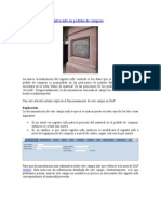 Actualizacion Del Registro Info en Pedidos de Compras