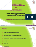 Master Detail ReportStudio Final