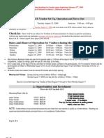 2009 PGX Vendor Info Package