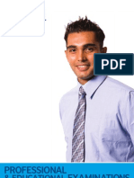Pakistan Professional Exam Brochure