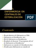 ROL DE ENFERMERIA EN CENTRALES DE ESTERILIZACIÓN stgo2011.ppt