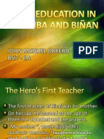 Chapter 3-EARLY EDUCATION IN CALAMBA AND BIÑAN-by Obrero.pptx