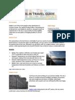 Hotels4U Dublin Travel Guide