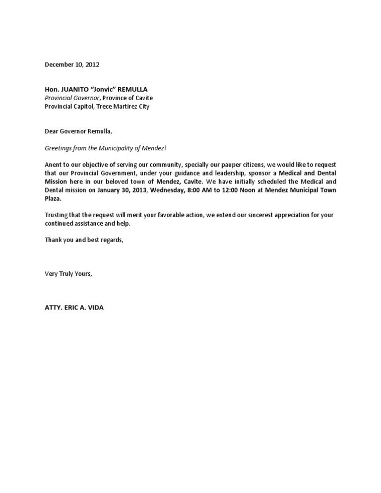 Letter to gov remulla altavistaventures Choice Image