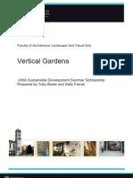Vertical Gardens by Toby Beale & Sally Farrah