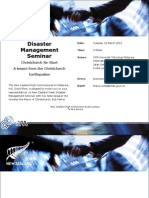 NZ Disaster Management Seminar Invite (New)[1]