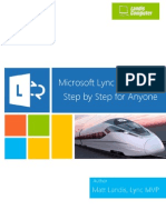 Microsoft Lync Server 2013 Step by Step for Anyone_REV007
