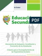 B 14 - Documento de Evaluación
