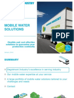 EN - Mobile Water Solutions - Degrémont Industry