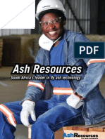 Ash Resources Corporate Brochure