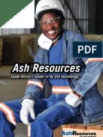Ash Resources Corporate Brochure
