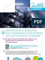 FR - Unités mobiles - Retour d'expérience client secteur Agroalimentaire - Degrémont Industry