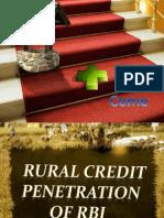 Origin of Rural Credit