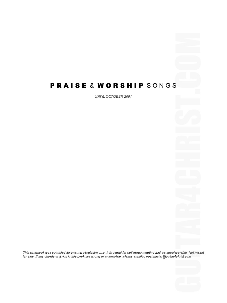 Songbookpdf Jesus Heaven