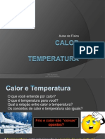 Aula multimídia - Calor