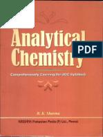 Analytical Chemistry by b k Sharma