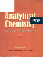 Analytical Chemistry by b k Sharma