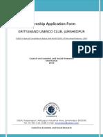 KNUC Intership Form 2013