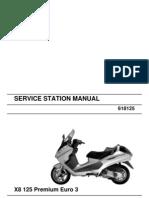 Piaggio X8 125 Premium Euro3 (EN)