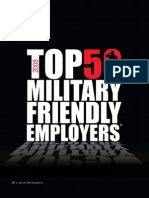 Military Friendly Employers from Resumebear.com