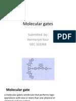Molecular Gates