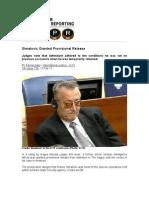 Simatovic Granted Provisional Release