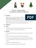 93337087 Bases Del i Concurso Interno de Villancicos y Canciones Navidenas 2008[1]
