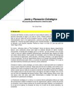 2001 to y Planeacion Estrategica
