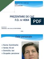 Prezentare de Caz Dumitrache Mariana an 6 Gr 1 (Forma Finala)