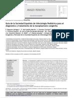 Guía Toxoplasmosis Congénita