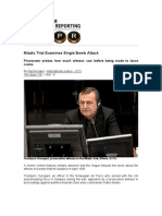 Mladic Trial Examines Single Bomb Attack