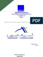 Stage Asswak Assalam COMMERCE Gestion