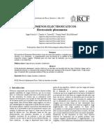 Informe Fenomenos Electrostaticos OK
